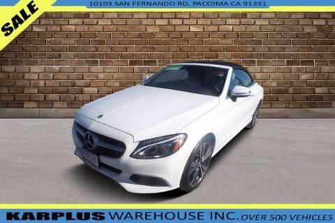 2017 Mercedes-Benz C-Class for sale at Karplus Warehouse in Pacoima CA
