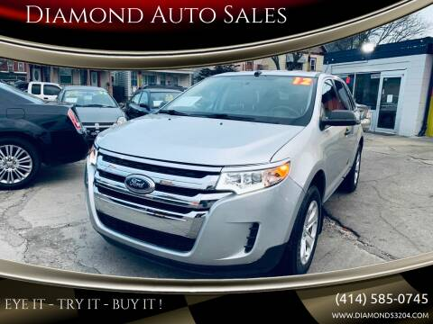 2012 Ford Edge for sale at Diamond Auto Sales in Milwaukee WI