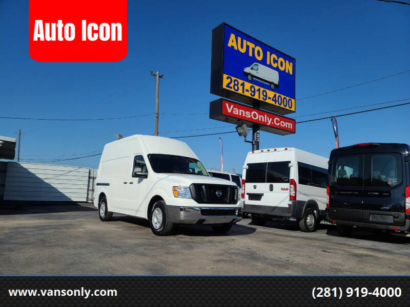 2019 Nissan NV Cargo for sale at Auto Icon in Houston TX