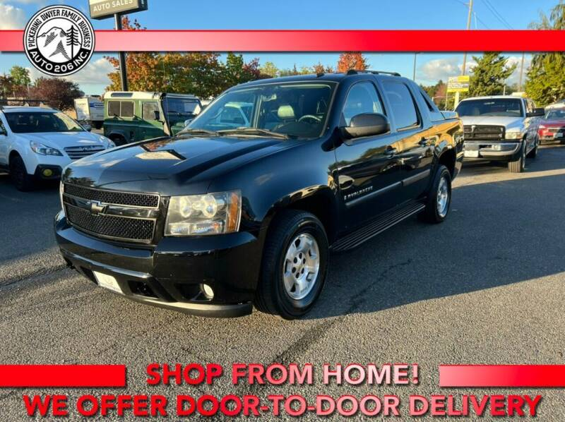 2007 Chevrolet Avalanche for sale at Auto 206, Inc. in Kent WA