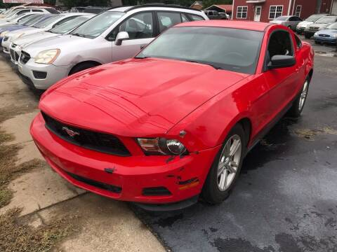 2011 Ford Mustang for sale at Sartins Auto Sales in Dyersburg TN