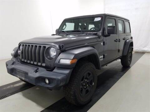 2018 Jeep Wrangler Unlimited for sale at INDY AUTO MAN in Indianapolis IN
