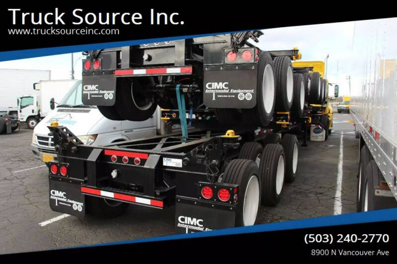 2020 CIMC CIMC 20/40 Combo Tridem for sale at Truck Source Inc. in Portland OR