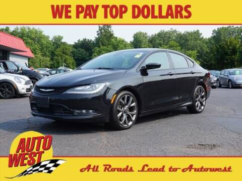 2015 Chrysler 200 for sale at Autowest of GR in Grand Rapids MI