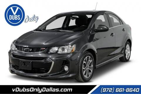 2018 Chevrolet Sonic for sale at VDUBS ONLY in Dallas TX
