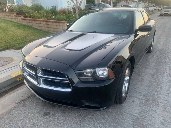 2012 Dodge Charger for sale at Fiesta Motors in Winnetka CA