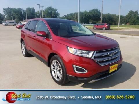 2015 Ford Edge for sale at RICK BALL FORD in Sedalia MO