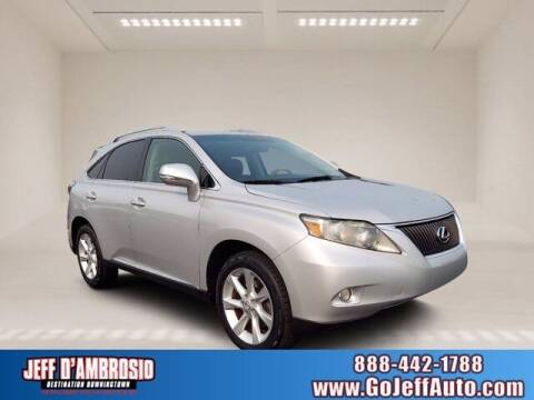 2011 Lexus RX 350 for sale at Jeff D'Ambrosio Auto Group in Downingtown PA