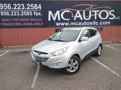 2013 Hyundai Tucson for sale at MC Autos LLC in Pharr TX