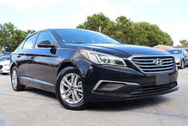 2017 Hyundai Sonata for sale at OCEAN AUTO SALES in Miami FL