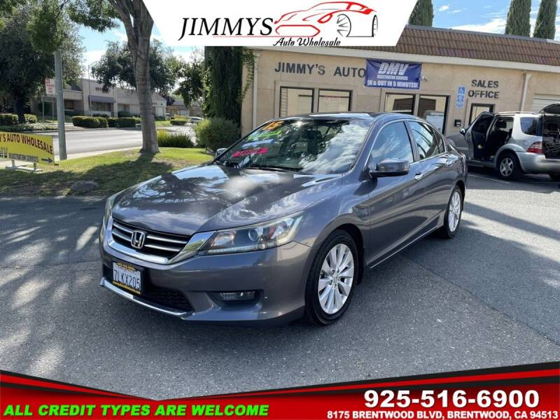 2015 Honda Accord for sale at JIMMY'S AUTO WHOLESALE in Brentwood CA