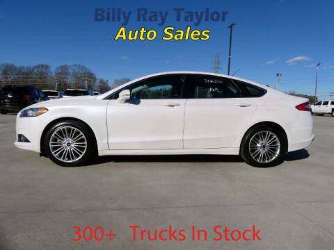 2015 Ford Fusion for sale at Billy Ray Taylor Auto Sales in Cullman AL