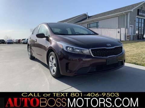2017 Kia Forte for sale at Auto Boss in Woodscross UT