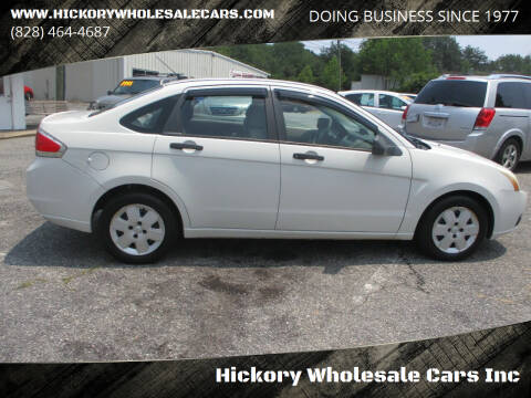 2009 Ford Focus for sale at Hickory Wholesale Cars Inc in Newton NC