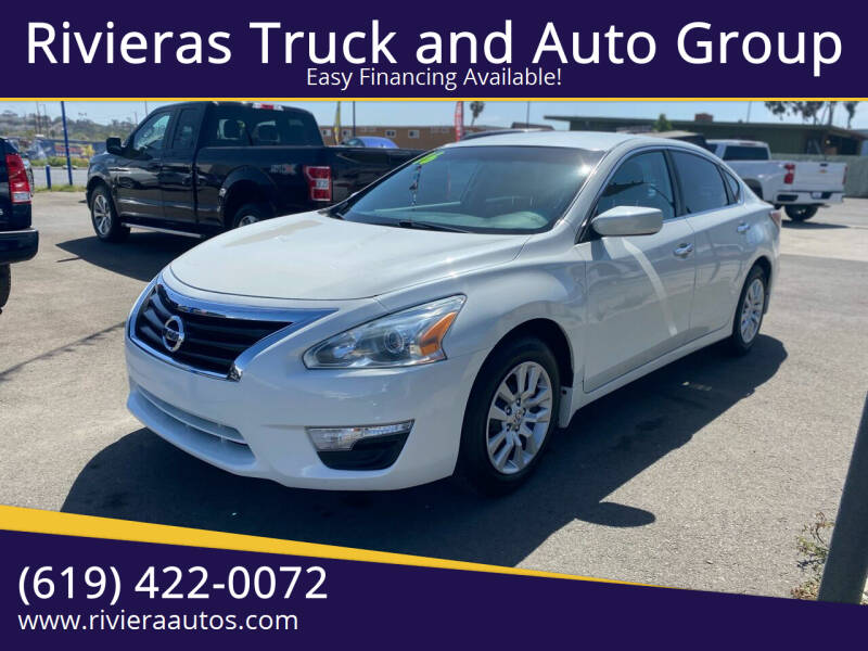 2015 Nissan Altima for sale at Rivieras Truck and Auto Group in Chula Vista CA