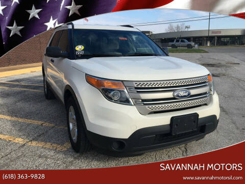 2011 Ford Explorer for sale at Savannah Motors in Cahokia IL