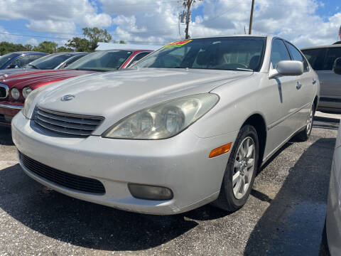 2003 Lexus ES 300 for sale at EXECUTIVE CAR SALES LLC in North Fort Myers FL