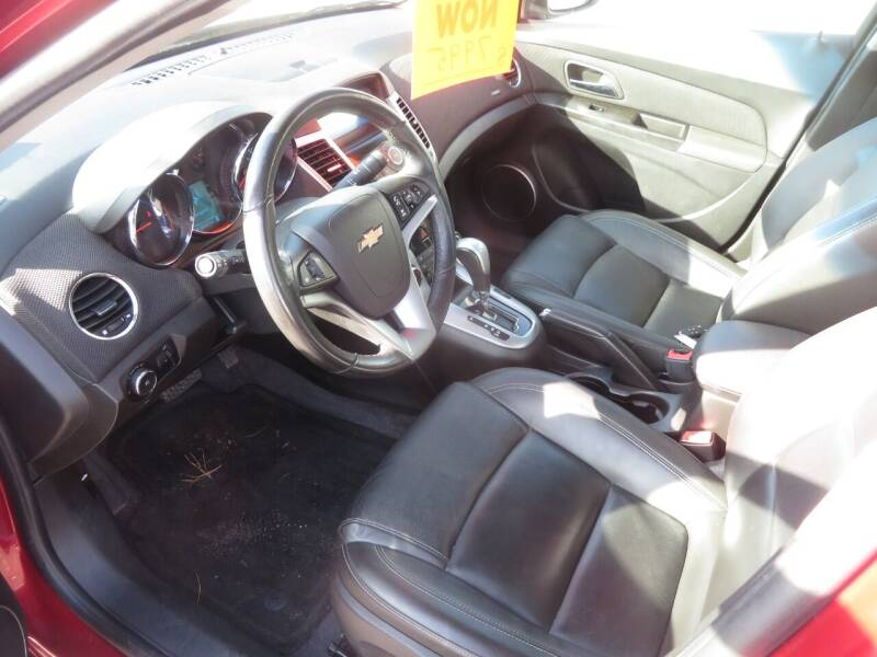 2012 Chevrolet Cruze LTZ 4dr Sedan w/1LZ - Concord NH