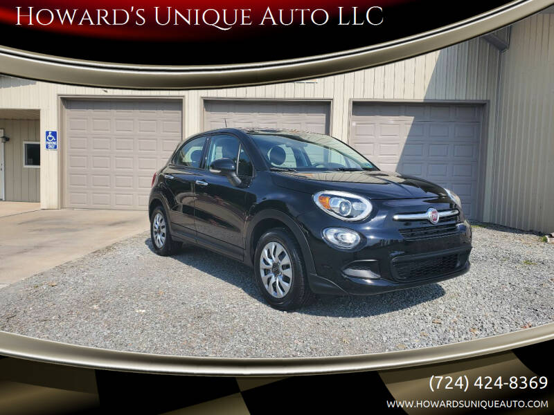 2016 FIAT 500X for sale at Howard's Unique Auto LLC in Mount Pleasant PA