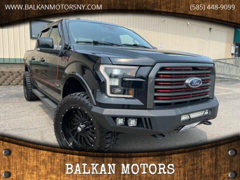 2017 Ford F-150 for sale at BALKAN MOTORS in East Rochester NY