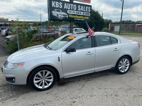 2009 Lincoln MKS for sale at KBS Auto Sales in Cincinnati OH