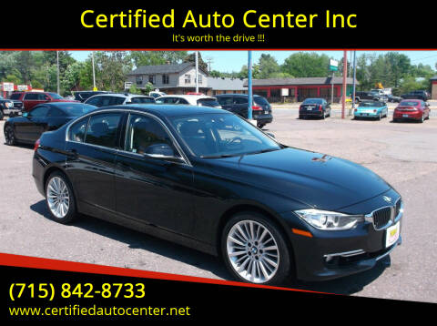 2012 BMW 3 Series for sale at Certified Auto Center Inc in Wausau WI