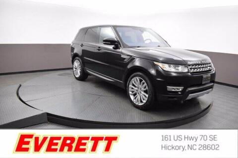 2017 Land Rover Range Rover Sport for sale at Everett Chevrolet Buick GMC in Hickory NC