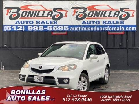 2012 Acura RDX for sale at Bonillas Auto Sales in Austin TX