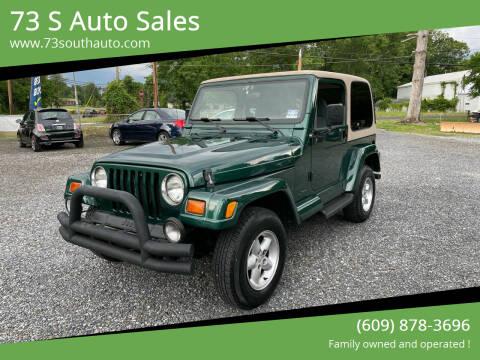1999 Jeep Wrangler for sale at 73 S Auto Sales in Hammonton NJ