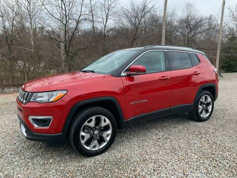 2018 Jeep Compass for sale at Reds Garage Sales Service Inc in Bentleyville PA