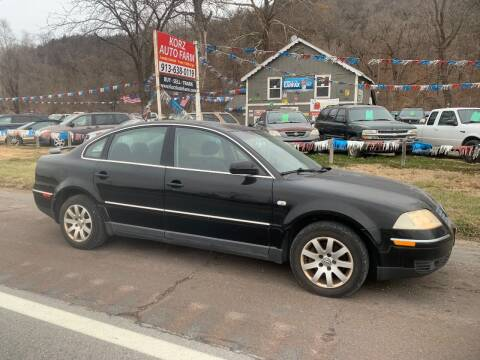 2002 Volkswagen Passat for sale at Korz Auto Farm in Kansas City KS
