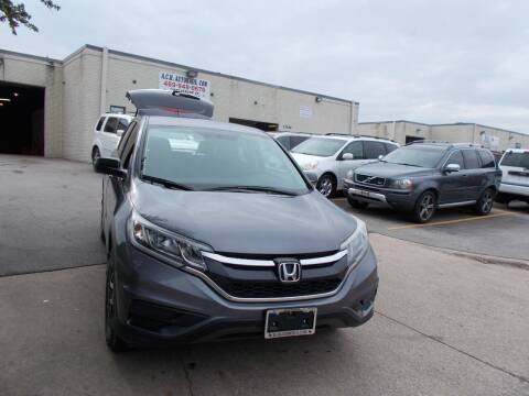 2016 Honda CR-V for sale at ACH AutoHaus in Dallas TX
