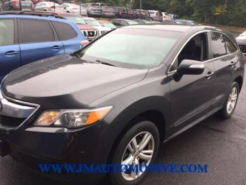 2014 Acura RDX for sale at J & M Automotive in Naugatuck CT