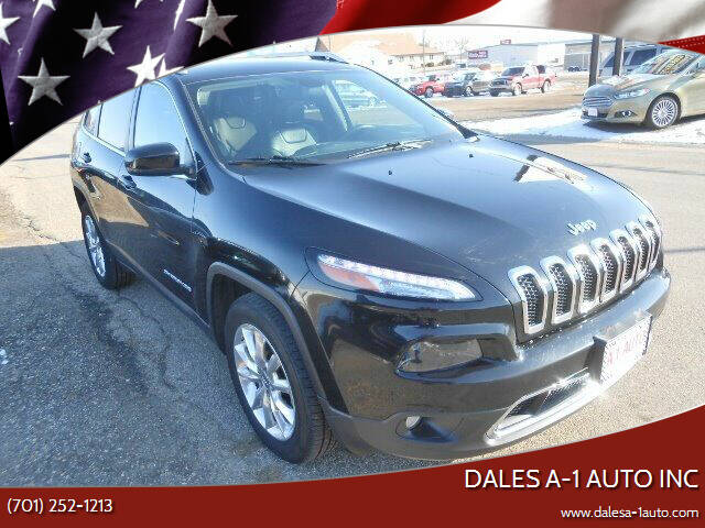 2017 Jeep Cherokee for sale at Dales A-1 Auto Inc in Jamestown ND