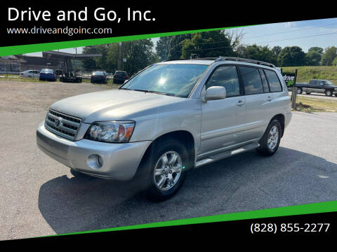 2007 Toyota Highlander for sale at Drive and Go, Inc. in Hickory NC