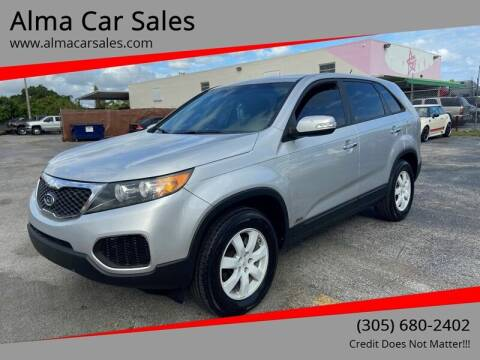 2011 Kia Sorento for sale at Alma Car Sales in Miami FL