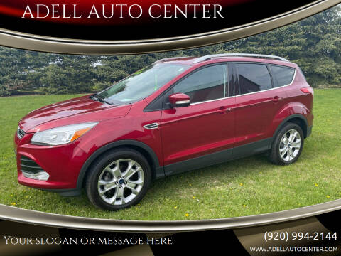 2014 Ford Escape for sale at ADELL AUTO CENTER in Waldo WI