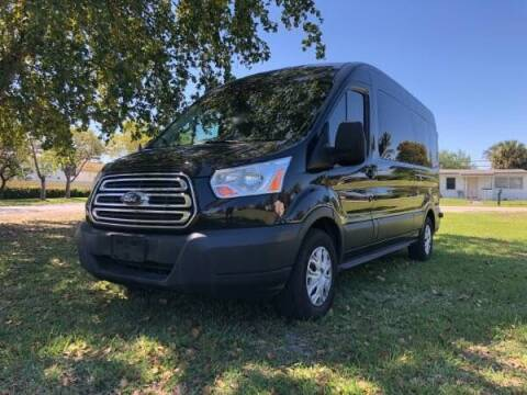 2015 Ford Transit Passenger for sale at Transcontinental Car USA Corp in Fort Lauderdale FL