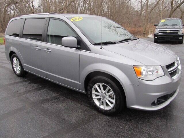 2020 Dodge Grand Caravan for sale at Thompson Motors LLC in Attica NY