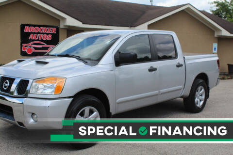 2012 Nissan Titan for sale at Brocker Autos in Humble TX