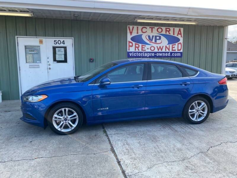 2018 Ford Fusion Hybrid for sale at Victoria Pre-Owned in Victoria TX