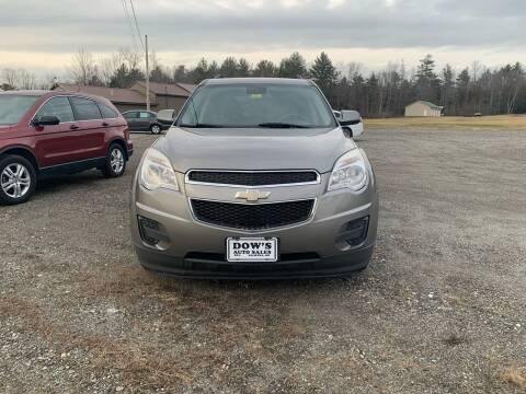 2012 Chevrolet Equinox for sale at DOW'S AUTO SALES in Palmyra ME