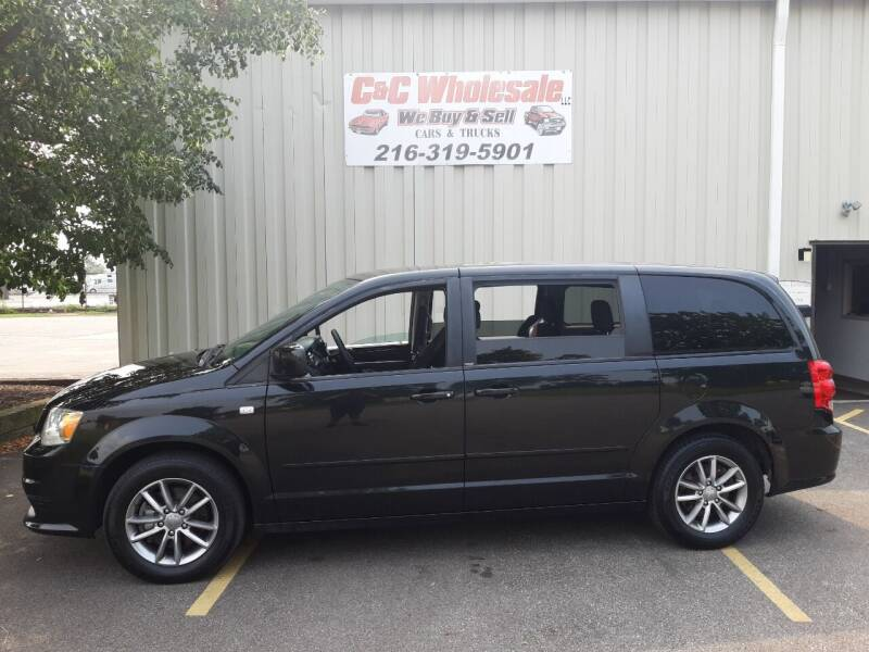 2014 Dodge Grand Caravan for sale at C & C Wholesale in Cleveland OH