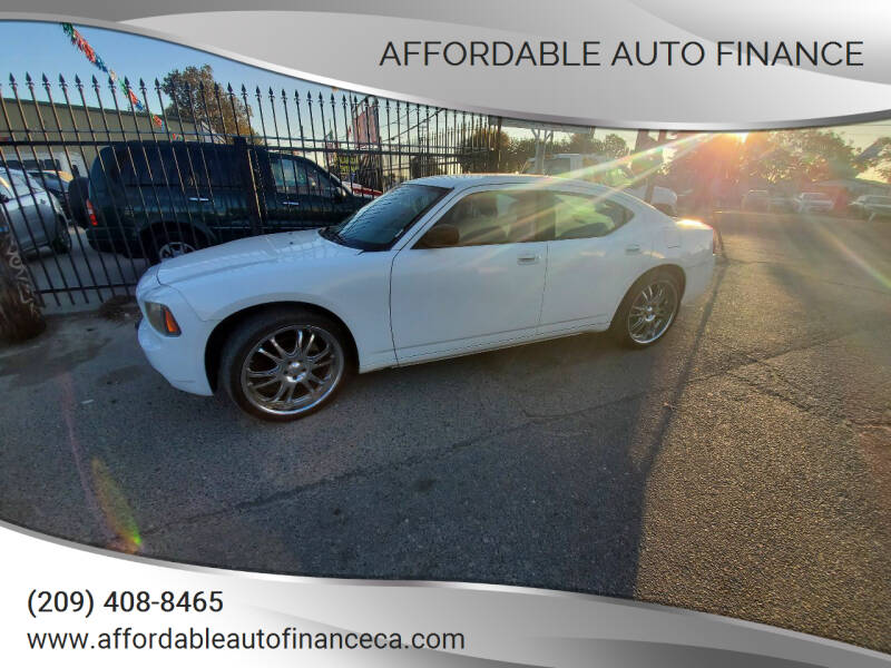 2008 Dodge Charger for sale at Affordable Auto Finance in Modesto CA
