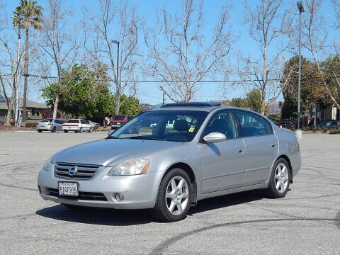 2003 Nissan Altima for sale at Crow`s Auto Sales in San Jose CA