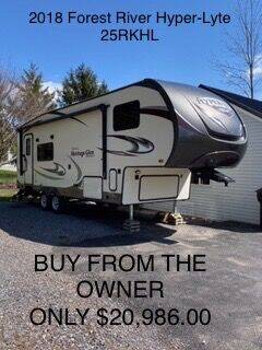 2018 Forest River Wildwood Hyper-Lyte 25RKHL for sale at RV Wheelator in North America AZ