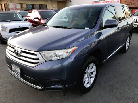 2012 Toyota Highlander for sale at CARSTER in Huntington Beach CA