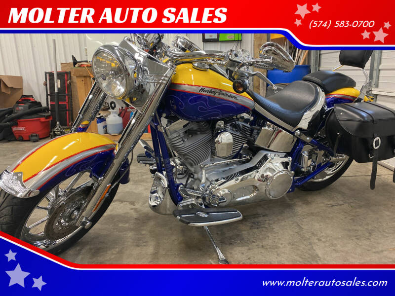 2006 Harley Davidson Fatboy CVO for sale at MOLTER AUTO SALES in Monticello IN