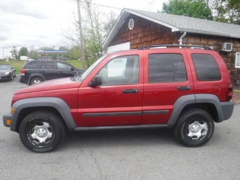 2007 Jeep Liberty for sale at Trade Zone Auto Sales in Hampton NJ