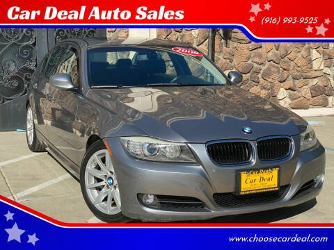 2009 BMW 3 Series for sale at Car Deal Auto Sales in Sacramento CA